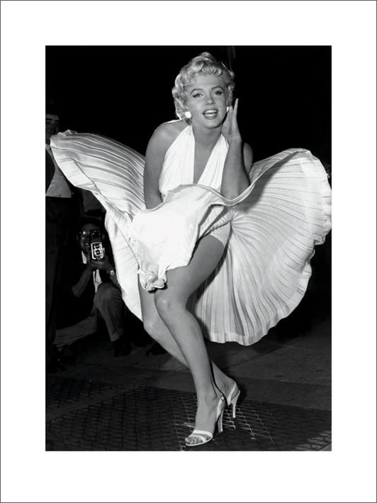 Reproducción de arte Marilyn Monroe