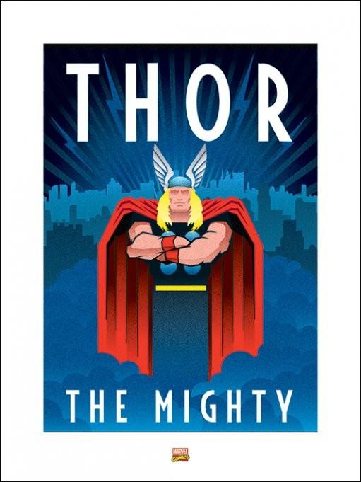 Lámina Marvel Deco - Thor