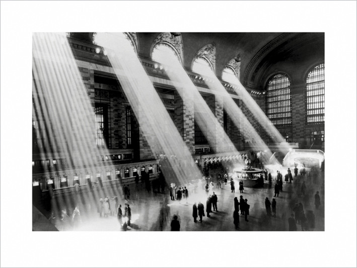 Lámina New York - Grand central terminal