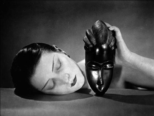 Reproducción de arte  Noire et Blanche - Black and white, 1926