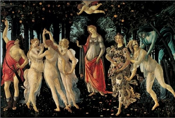 Reproducción de arte Primavera - The Allegory of Spring