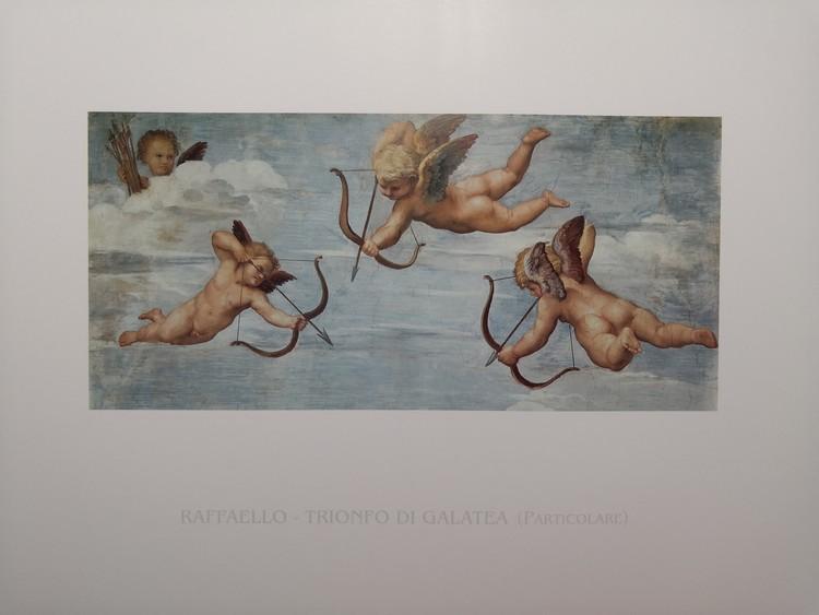 Reproducción de arte  Raphael Sanzio - The Triumph of Galatea (part)