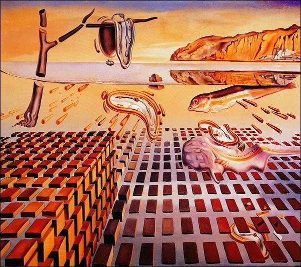 Reproducción de arte  Salvador Dali - The Disintegration