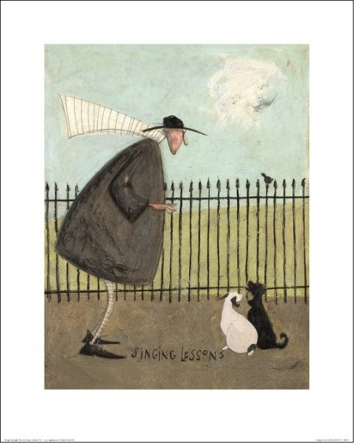 Lámina Sam Toft - Singing Lessons
