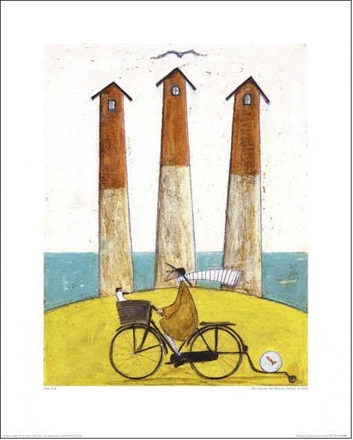 Reproducción de arte Sam Toft - The Square, The Round And The Arched