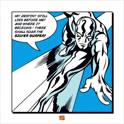 Reproducción de arte  Silver Surfer - My Destiny