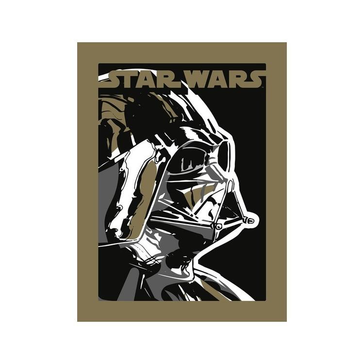 Reproducción de arte  Star Wars - Darth Vader