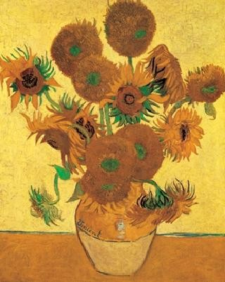 Lámina Sunflowers, 1888