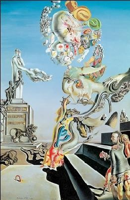 Reproducción de arte The Lugubrious Game, 1929