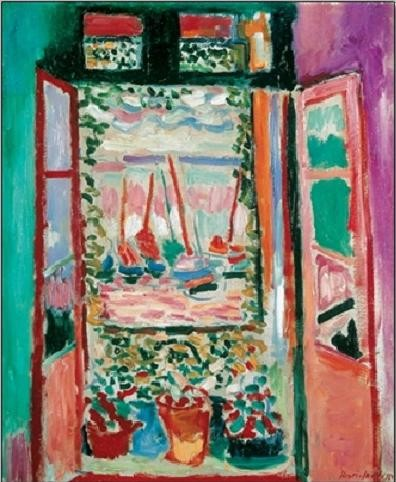 Reproducción de arte  The Open Window, Collioure, 1905