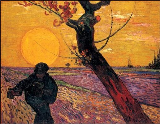 Reproducción de arte  The Sower, 1888