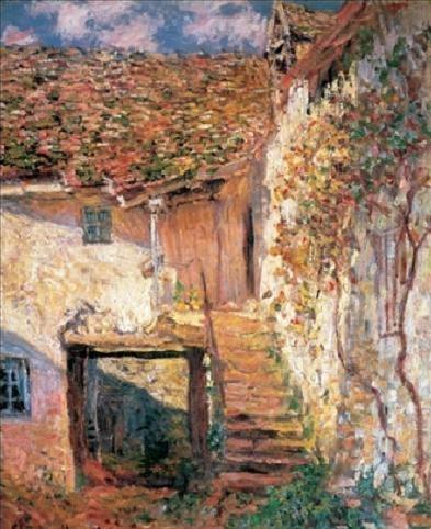 Reproducción de arte  The Stairs, 1878