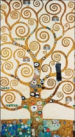 Reproducción de arte The Tree Of Life - Stoclit Frieze, 1910