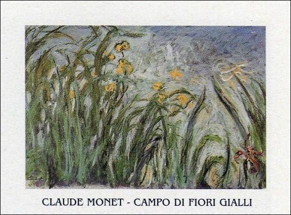 Reproducción de arte  The Yellow Iris