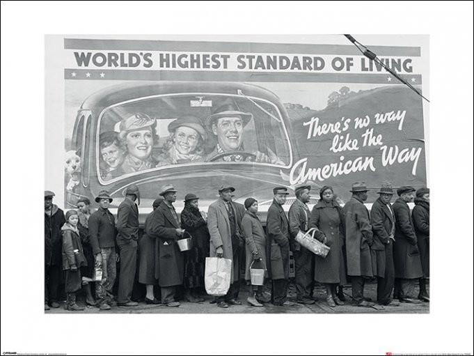 Reproducción de arte  Time Life - World's Highest Standard of Living