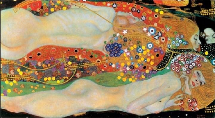Reproducción de arte Water Serpents II
