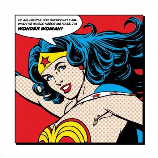Reproducción de arte  Wonder Woman - Of All People