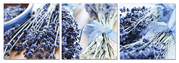 Lavender - Collage Schilderij