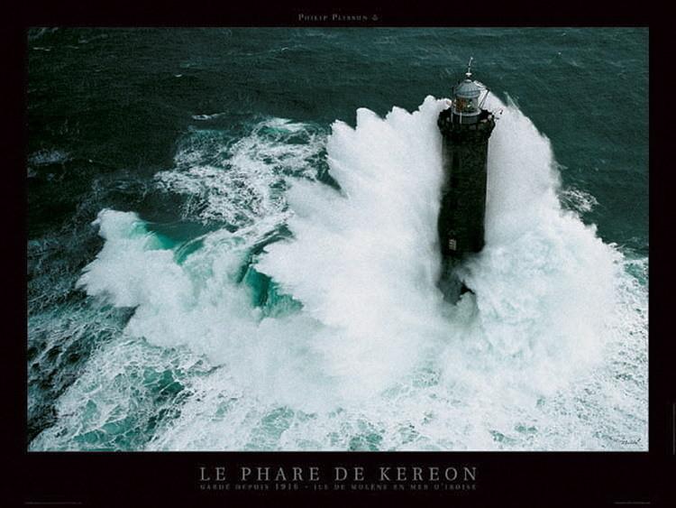 Le phare de Kéréon Festmény reprodukció