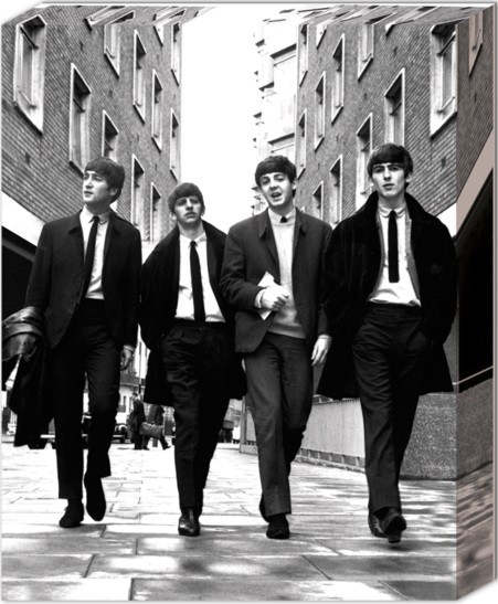 Leinwand Poster Beatles - In London