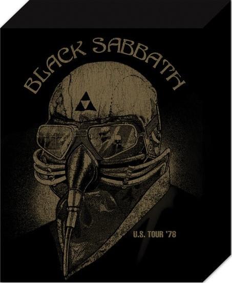 Leinwand Poster Black Sabbath - US Tour 78