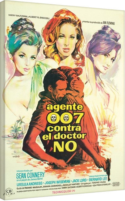 Leinwand Poster James Bond - James Bond is Back!