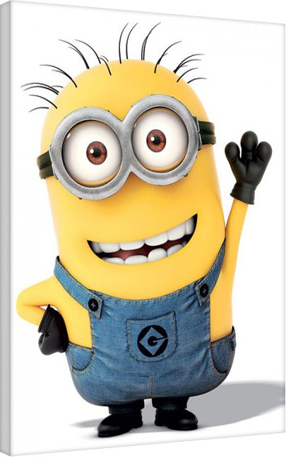 Leinwand Poster Minions (Despicable Me) - Minion Wave
