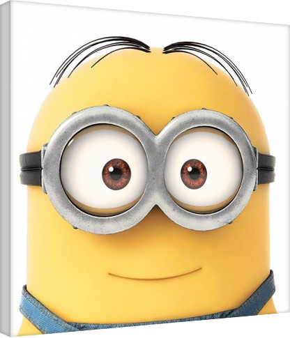 Leinwand Poster Minions (Despicable Me) - Smile