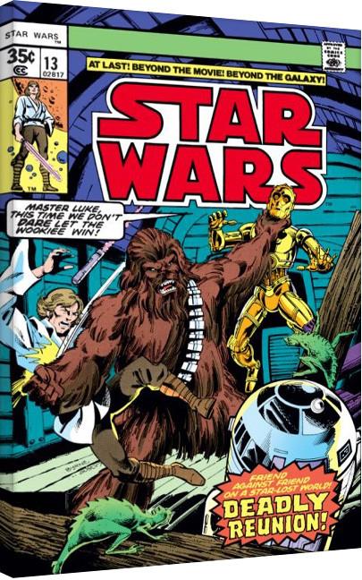 Leinwand Poster Star Wars - Deadly Reunion