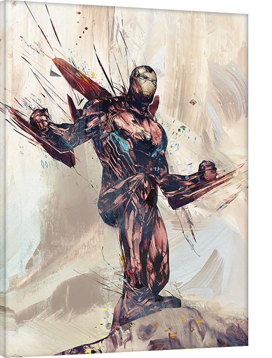 Leinwand Poster, Bilder Avengers Infinity War - Iron Man Sketch bei  EuroPosters