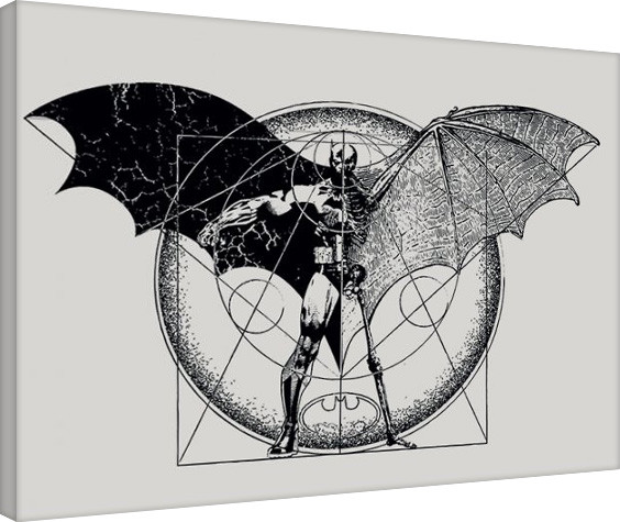 Leinwand Poster Batman - Dark Arts