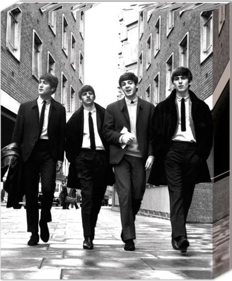 Leinwand Poster Beatles - In London
