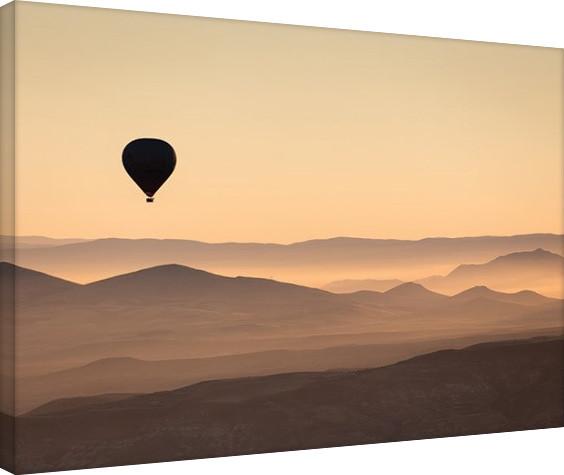 Leinwand Poster David Clapp - Cappadocia Balloon Ride