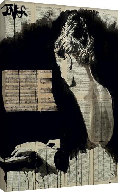 Leinwand Poster Loui Jover - Her Sonata