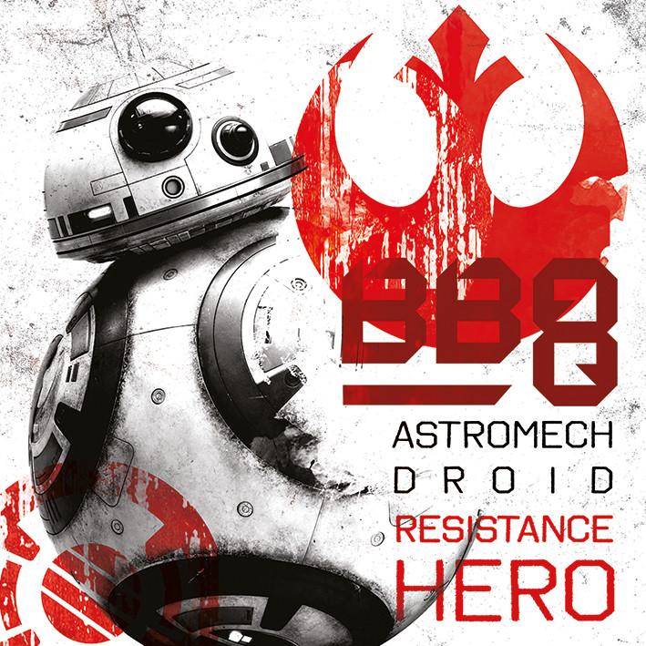 Leinwand Poster, Bilder Star Wars: Die letzten Jedi - BB-8 ...