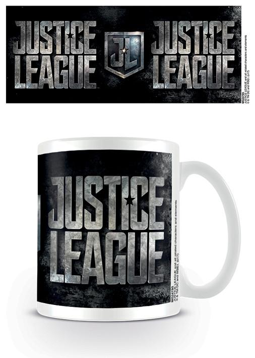 Kubek Liga Sprawiedliwości- Metallic Logo