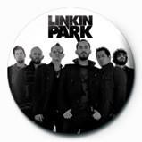 LINKIN PARK - group bw Insignă