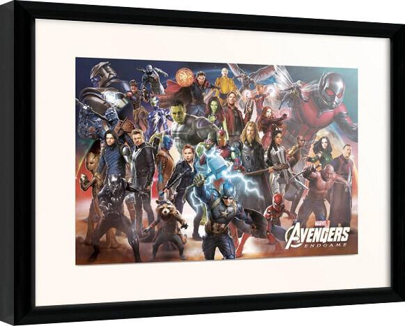 Poster incorniciato Avengers: Endgame - Line Up