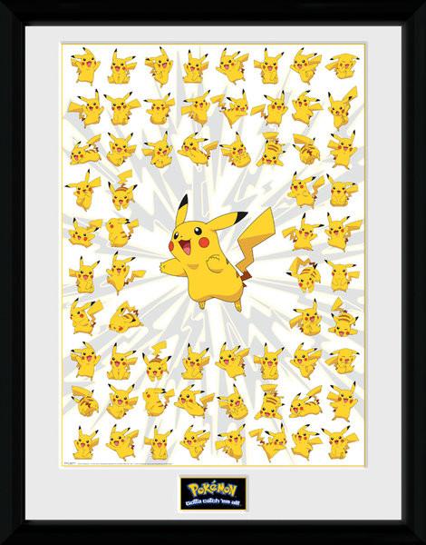 Pokemon - Pikachu Poster Incorniciato