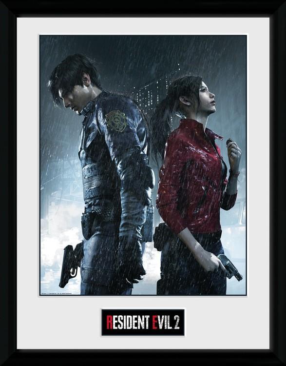 Resident Evil 2 Rain Key Art Poster Incorniciato Quadro Su Europosters It