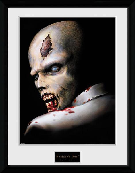Resident Evil - Zombie Poster Incorniciato