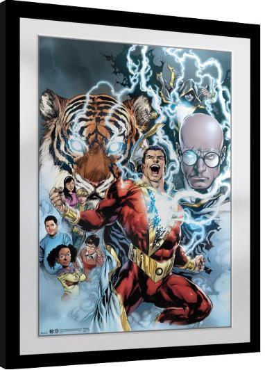 Poster incorniciato Shazam - Collage