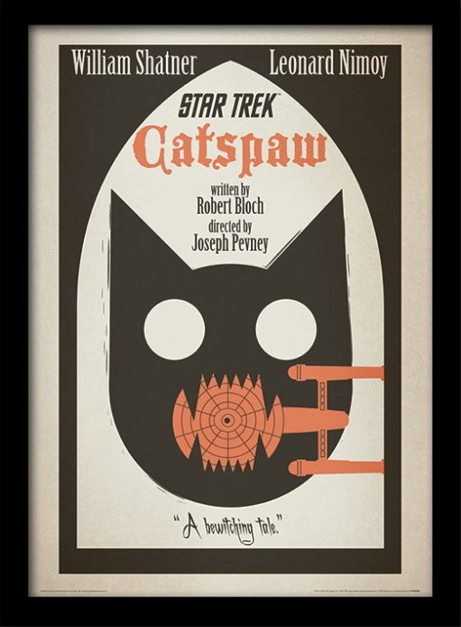 Catspaw il gatto nero Star Trek episodio di Halloween