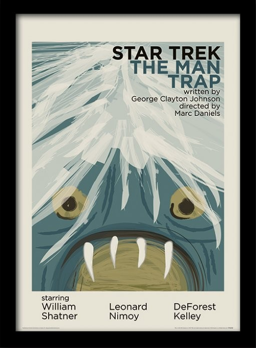 Star Trek - The Man Trap locandine Film in Plexiglass