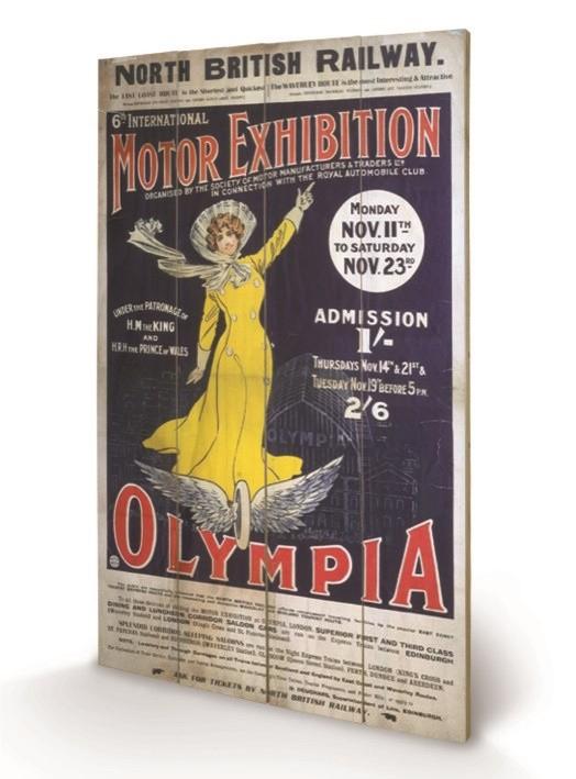 Bild auf Holz London Olympia