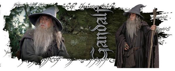 Kubek Lord of the Rings - Gandalf