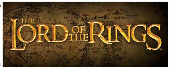 Cană Lord of the Rings - Logo