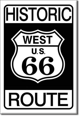 HISTORIC 66 Magnet