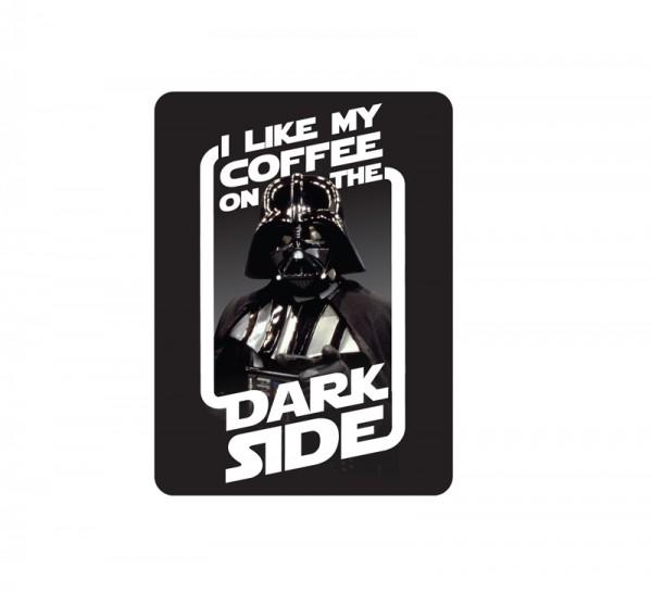 Magnet  Star Wars - Coffee On The Dark Side