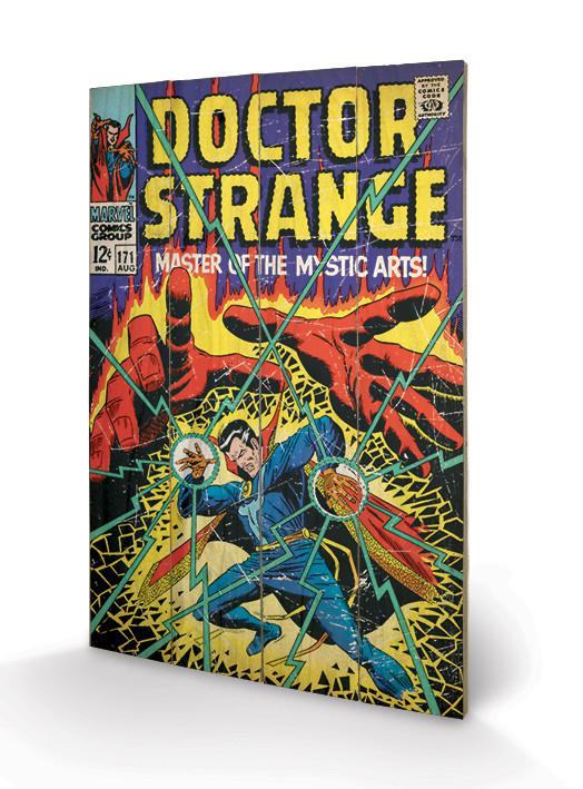 Målning på trä Doctor Strange - Master Of The Mystic Arts